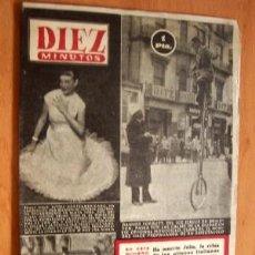 Coleccionismo de Revista Diez Minutos: DIEZ MINUTOS Nº 107 - 13 SEPTIEMBRE 1953. Lote 17312419