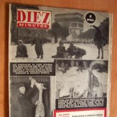 Coleccionismo de Revista Diez Minutos: DIEZ MINUTOS Nº 127 - 31 ENERO 1954. Lote 3137570