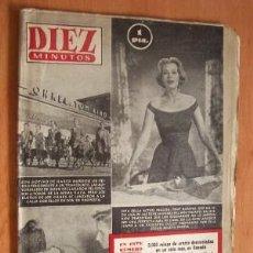 Coleccionismo de Revista Diez Minutos: DIEZ MINUTOS Nº 126 - 24 ENERO 1954. Lote 17464199
