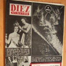 Coleccionismo de Revista Diez Minutos: DIEZ MINUTOS Nº 102 - 9 AGOSTO 1953. Lote 17522451