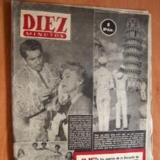 Coleccionismo de Revista Diez Minutos: DIEZ MINUTOS Nº 108 - 20 SEPTIEMBRE 1953. Lote 17464203