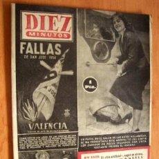 Coleccionismo de Revista Diez Minutos: DIEZ MINUTOS - 14 MARZO 1954. Lote 17416700