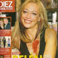 Coleccionismo de Revista Diez Minutos: REVISTA 'DIEZ MINUTOS', Nº 2878. 18 DE OCTUBRE DE 2006. BELÉN ESTEBAN EN PORTADA.. Lote 23208736