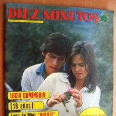 Coleccionismo de Revista Diez Minutos: DIEZ MINUTOS Nº 1234 FECHA19/4/75 EN PORTADA-LUCIA DOMINGUIN, 18 AÑOS LUNA DE MIEL HIPPIE (2 PÁGINA). Lote 18856565
