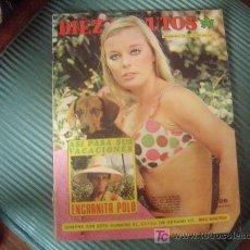 Coleccionismo de Revista Diez Minutos: REVISTA DIEZ MINUTOS. Lote 10809870