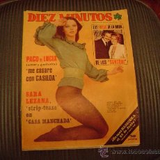Coleccionismo de Revista Diez Minutos: REVISTA DIEZ MINUTOS. Lote 20452059