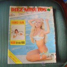 Coleccionismo de Revista Diez Minutos: REVISTA DIEZ MINUTOS. Lote 148709276