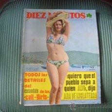 Coleccionismo de Revista Diez Minutos: REVISTA DIEZ MINUTOS. Lote 20444535