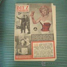 Coleccionismo de Revista Diez Minutos: REVISTA DIEZ MINUTOS.. Lote 21809074