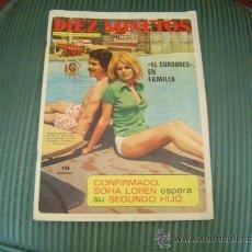 Coleccionismo de Revista Diez Minutos: REVISTA DIEZ MINUTOS.. Lote 21295045