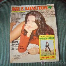 Coleccionismo de Revista Diez Minutos: REVISTA DIEZ MINUTOS. Lote 21159152
