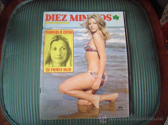 REVISTA DIEZ MINUTOS (Coleccionismo - Revistas y Periódicos Modernos (a partir de 1.940) - Revista Diez Minutos)