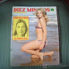 Coleccionismo de Revista Diez Minutos: REVISTA DIEZ MINUTOS. Lote 21159147