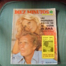 Coleccionismo de Revista Diez Minutos: REVISTA DIEZ MINUTOS. Lote 21809094
