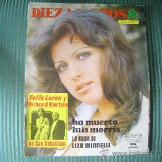 Coleccionismo de Revista Diez Minutos: REVISTA DIEZ MINUTOS. Lote 21201922