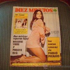 Coleccionismo de Revista Diez Minutos: REVISTA DIEZ MINUTOS. Lote 21201929