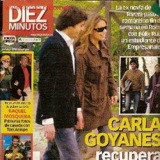 Coleccionismo de Revista Diez Minutos: REVISTA 'DIEZ MINUTOS',Nº 2793. 4 DE MARZO DE 2005. CARLA GOYANES EN PORTADA.. Lote 16481520