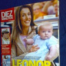 Coleccionismo de Revista Diez Minutos: REVISTA 'DIEZ MINUTOS', Nº 2853. 28 DE ABRIL DE 2006. LA INFANTA LEONOR EN PORTADA.. Lote 23208744