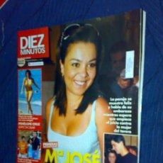 Coleccionismo de Revista Diez Minutos: REVISTA 'DIEZ MINUTOS'. Nº 2868. 9 DE AGOSTO DE 2006. MARÍA JOSÉ CAMPANARIO EN PORTADA.. Lote 23208748