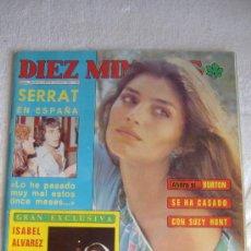 Coleccionismo de Revista Diez Minutos: REVISTA 10 MINUTOS Nº 1306 AÑO 1976, PORT. ANGELA MOLINA, SERRAT, INT. MARISOL, MICK JAGGER. Lote 26158799