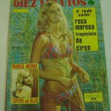 Coleccionismo de Revista Diez Minutos: REVISTA DIEZ MINUTOS -AÑO XXIV- Nº 1189- 8 JUNIO 1974-ROSA MORENA. Lote 12667650