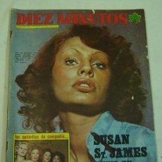 Coleccionismo de Revista Diez Minutos: REVISTA DIEZ MINUTOS -AÑO XXIII- Nº 1129- 14 ABRIL 1973-NADIUSKA. Lote 11765974