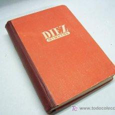 Coleccionismo de Revista Diez Minutos: LIBRO VOLUMEN DE LA REVISTA 10 MINUTOS ENCUADERNADA. Lote 27506950