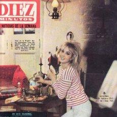 Coleccionismo de Revista Diez Minutos: DIEZ MINUTOS FEBRERO 1965 Nº 702-.PRECIO ORIGINAL 5 PESETAS.LAS NOTICIAS DE LA SEMANA. Lote 25547029
