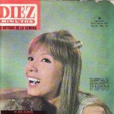 Coleccionismo de Revista Diez Minutos: DIEZ MINUTOS FEBRERO 1965 Nº 703-.PRECIO ORIGINAL 5 PESETAS.LAS NOTICIAS DE LA SEMANA. Lote 21371461