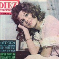 Coleccionismo de Revista Diez Minutos: DIEZ MINUTOS MARZO 1965 Nº 706-.PRECIO ORIGINAL 5 PESETAS.LAS NOTICIAS DE LA SEMANA. Lote 23825452