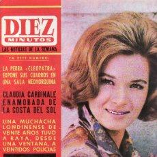 Coleccionismo de Revista Diez Minutos: DIEZ MINUTOS JUNIO 1965 Nº 722-.PRECIO ORIGINAL 5 PESETAS.LAS NOTICIAS DE LA SEMANA. Lote 27543984
