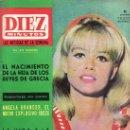 Coleccionismo de Revista Diez Minutos: DIEZ MINUTOS JULIO 1965 Nº 725-SOPHIE DAUMIER ACTRIZ FRANCESA,PORFIRIO RUBIROSA FAMOSO PLAY-BOY. Lote 24658132