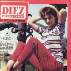 Coleccionismo de Revista Diez Minutos: DIEZ MINUTOS AGOSTO1965 Nº 728-EN CUBIERTA GIORGIA MOLL-ESTA REVISTA Y MAS EN RASTRILLOPORTOBELLO. Lote 21477266