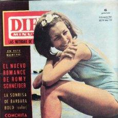 Coleccionismo de Revista Diez Minutos: DIEZ MINUTOS AGOSTO1965 Nº 729-EN CUBIERTA ALICIA BORRAS -MISS ESPAÑA.. Lote 23223617