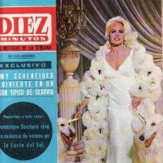 Coleccionismo de Revista Diez Minutos: DIEZ MINUTOS -SEPTIEMBRE1965 Nº 735 CARROL BAKER COMO APARECE EN LA PELICULA. Lote 25072502