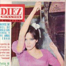 Coleccionismo de Revista Diez Minutos: REVISTAS ORIGINALES- DIEZ MINUTOS Nº 745-DICIEMBRE 1965-COLECCIONISMO EN GENERAL-RASTRILLOPORTOBELLO. Lote 26065769