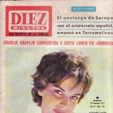 Coleccionismo de Revista Diez Minutos: DIEZ MINUTOS Nº 743-NOVIEMBRE 1965-COLECCIONISMO EN GENERAL-RASTRILLOPORTOBELLO. Lote 27575189