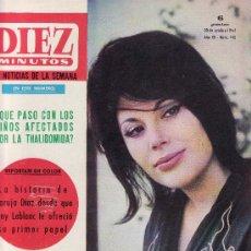 Coleccionismo de Revista Diez Minutos: DIEZ MINUTOS Nº 740-OCTUBRE 1965-COLECCIONISMO EN GENERAL-RASTRILLOPORTOBELLO. Lote 23708190