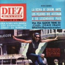 Coleccionismo de Revista Diez Minutos: DIEZ MINUTOS Nº 736-OCTUBRE 1965-COLECCIONISMO EN GENERAL-RASTRILLOPORTOBELLO. Lote 21832098