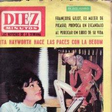 Coleccionismo de Revista Diez Minutos: REVISTAS ORIGINALES- DIEZ MINUTOS Nº 747-DICIEMBRE 1965-COLECCIONISMO EN GENERAL-RASTRILLOPORTOBELLO. Lote 20658305
