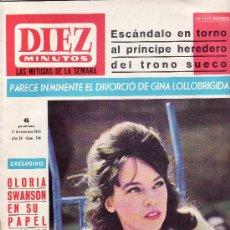 Coleccionismo de Revista Diez Minutos: REVISTAS ORIGINALES- DIEZ MINUTOS Nº 746-DICIEMBRE 1965-COLECCIONISMO EN GENERAL-RASTRILLOPORTOBELLO. Lote 22474925