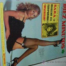 Coleccionismo de Revista Diez Minutos: BRITT EKLAND, CIRA 1,2,3..., MÓNICA RANDALL, CAROLINA DE MÓNACO, MARÍA SALERNO, DUQUES DE CÁDIZ. Lote 26288275