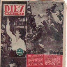 Coleccionismo de Revista Diez Minutos: DIEZ MINUTOS-JULIO 1956 Nº 254.PRECIO ORIGINAL 1 PESETA-ESTA Y MAS REVISTAS EN RASTRILLOPORTOBELLO. Lote 23689114