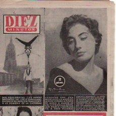 Coleccionismo de Revista Diez Minutos: DIEZ MINUTOS-DICIEMBRE1958 Nº 379.Y MAS REVISTAS EN RASTRILLOPORTOBELLO-COLECCIONISMO DESDE TENERIFE. Lote 24101702