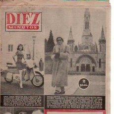 Coleccionismo de Revista Diez Minutos: DIEZ MINUTOS-FEBRERO1958 Nº 336.SCOOTER REVISTAS EN RASTRILLOPORTOBELLO-COLECCIONISMO DESDE TENERIFE. Lote 24153304
