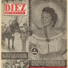 Coleccionismo de Revista Diez Minutos: DIEZ MINUTOS Nº 144, DE 1954. Lote 27298341