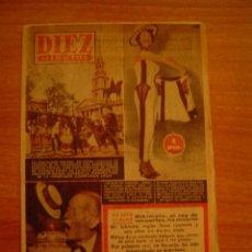 Coleccionismo de Revista Diez Minutos: REVISTA DIEZ MINUTOS -MADRID, BARCELONA 31 OCTUBRE 1954 Nº 166. Lote 16224644