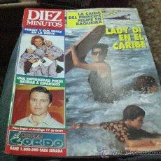 Coleccionismo de Revista Diez Minutos: REVISTA DIEZ MINUTOS AÑO 1993 PORTADA LADY DI ESPARTACO. Lote 24553816