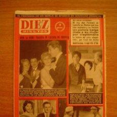 Coleccionismo de Revista Diez Minutos: REVISTA DIEZ MINUTOS MADRID- BARCELONA 24 MAYO 1959. Nº 404. Lote 16354626