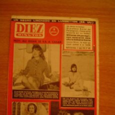 Coleccionismo de Revista Diez Minutos: REVISTA DIEZ MINUTOS MADRID- BARCELONA 17 MAYO 1959. Nº 403. Lote 16354633